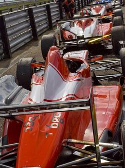 F3 cars line up