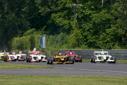 Start: Simona De Silvestro, Team Stargate Worlds and Borja Garcia, Condor Motorsports lead the field