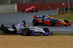 A difficult moment for #8 Anderlecht Zakspeed: Yelmer Buurman
