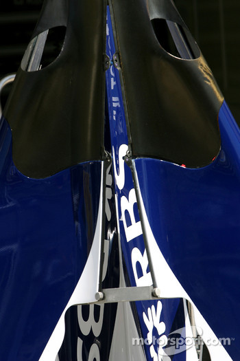 Williams F1 Team engine cover detail