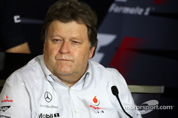 FIA press conference: Norbert Haug, Mercedes, Motorsport chief