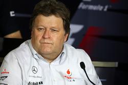 FIA press conference: Norbert Haug, Mercedes, Motorsport chief