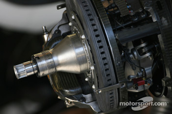 Williams F1 Team brake system detail