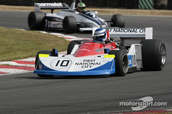 Katsu Kubota, March 761, Joaquin Folch, Brabham BT49