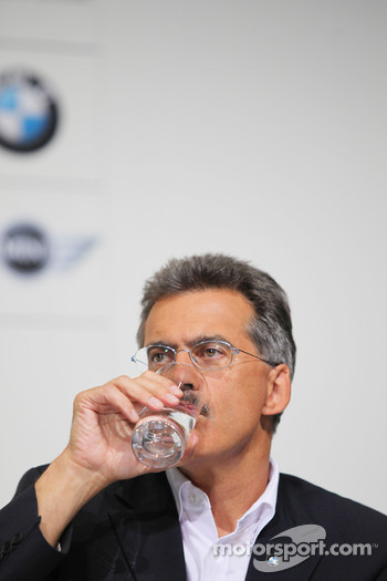 Dr. Mario Theissen (BMW Sauber F1 Team, BMW Motorsport Director)