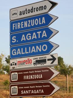 Road to the Mugello