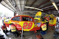 Richard Childress Racing Chevrolet crew members at work