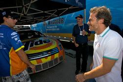 Andrew Ranger and Jacques Villeneuve