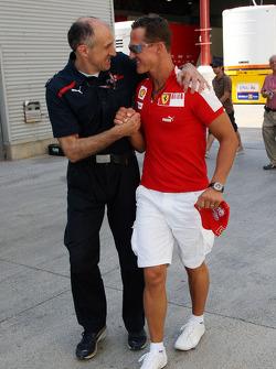 Franz Tost, Scuderia Toro Rosso, Team Principal, Michael Schumacher, Test Driver, Scuderia Ferrari