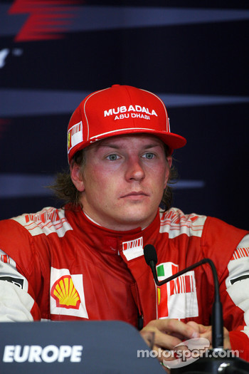 Press conference: Kimi Raikkonen, Scuderia Ferrari