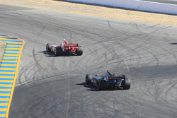 Scott Dixon, Target Chip Ganassi Racing, Marco Andretti, Andretti Green Racing