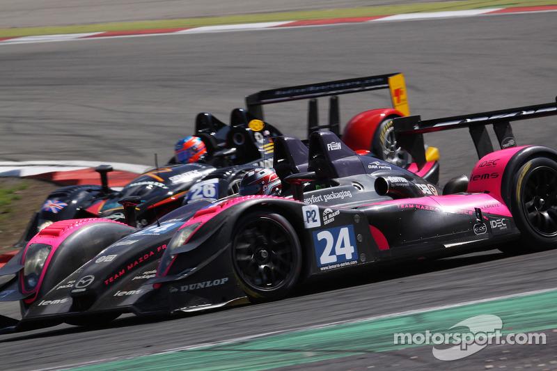 #24 Oak Racing Pescarolo - Mazda: Jacques Nicolet, Richard Hein