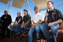 Pre-event press conference: Jacques Villeneuve, Ron Fellows, Scott Pruett and Brad Keselowski