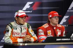 Giancarlo Fisichella, Force India F1 Team, Kimi Raikkonen, Scuderia Ferrari