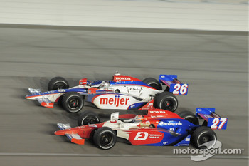 Marco Andretti, Andretti Green Racing and Hideki Mutoh, Andretti Green Racing