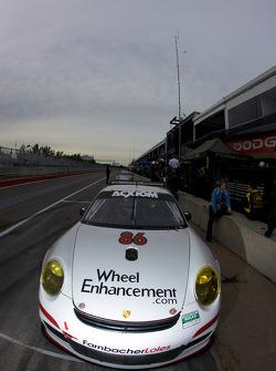 #86 Farnbacher Loles Racing Porsche GT3: Eric Lux, Bryan Sellers
