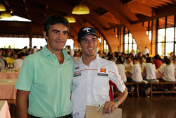 Alex De Angelis, San Carlo Honda Gresini visits San Marino