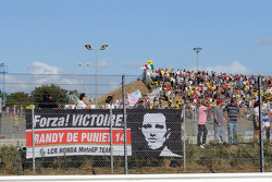 Fan banner for Randy De Puniet, LCR Honda MotoGP