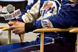 Press conference: Kurt Busch, Penske Racing Dodge