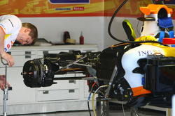 Renault F1 Team, Rear Assembly