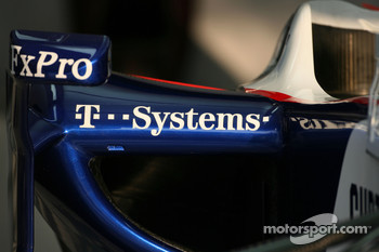 BMW Sauber F1 Team body work