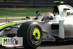 Race winner Rubens Barrichello, Brawn GP