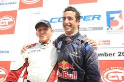 Daniel McKenzie and Daniel Ricciardo, champions both