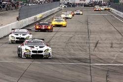 #25 BMW Team RLL, BMW M6 GTLM: Bruno Spengler, Bill Auberlen, Dirk Werner