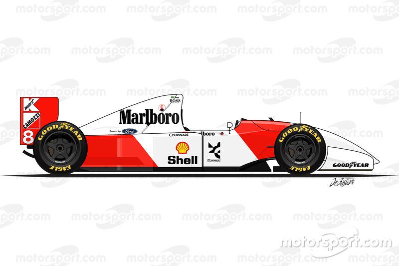 1993 - La McLaren MP4-8