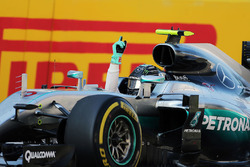 Winner Nico Rosberg, Mercedes AMG F1 Team W07 in parc ferme