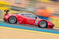 Endurance Photos - #1 VISIOM Ferrari F458 GT2: Jean-Paul Pagny, Thierry Perrier, Jean-Bernard Bouvet