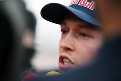 Daniil Kvyat, Scuderia Toro Rosso with the media
