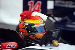 The helmet of Kazim Vasiliauskas