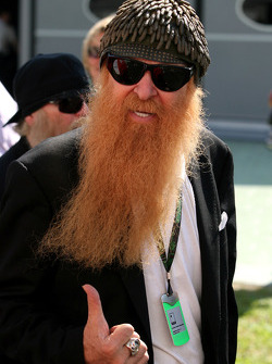 ZZ Top band visit the paddock