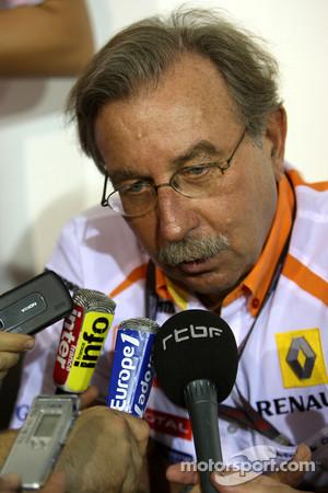 Jean-Francois Caubet, Managibng director of Renault F1