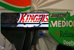 Force India F1 Team rear wing