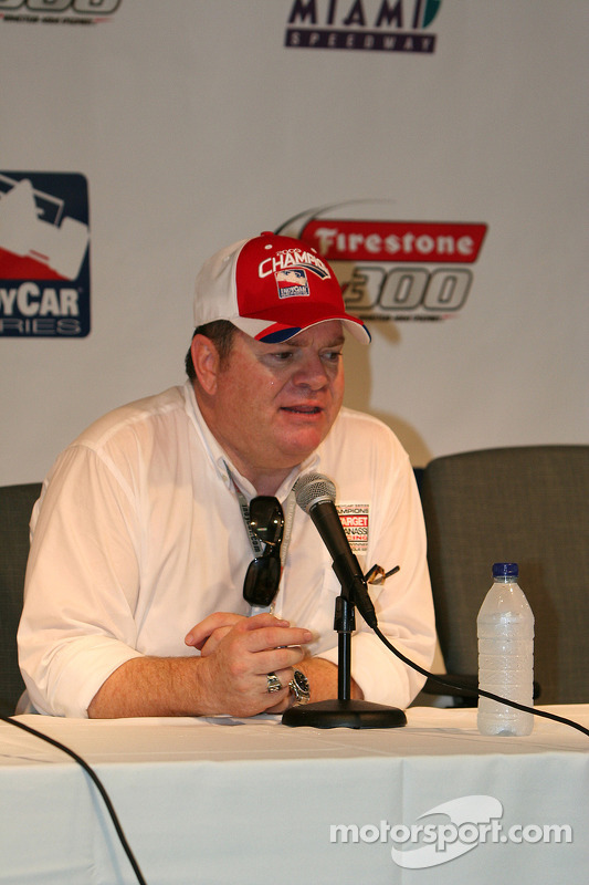 Championship team owner, Chip Ganassi