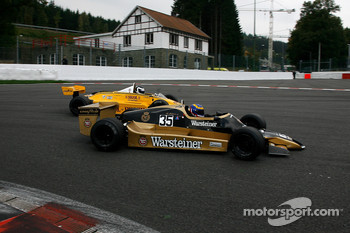 #35 Steve Allen Arrows A1; #33 Jean-Michel Martin Fittipaldi F8
