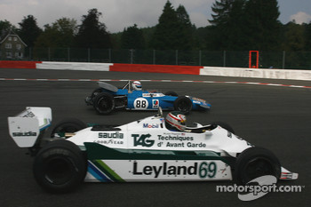 #88 Simon Hadfield Matra MS80; #69 Michael Fitzgerald Williams FW07