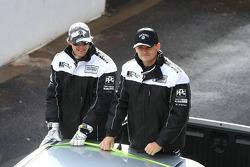 Driver Parade: #15 Jack Daniel's Racing: Nathan Pretty, Ben Collins
