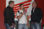 Randy De Puniet, LCR Honda MotoGP, with guests
