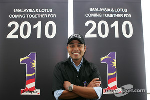 Newly-appointed CEO of 1Malaysia Racing Team Riad Asmat