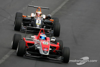 Daniel Mckenzie, Fortec Motorsport and Jules Bianchi, Art Grand Prix