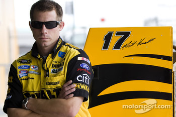 Drew Blickensderfer, crew chief for Matt Kenseth