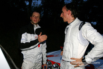 Robert Kubica and Michal Kusnierz, Renault Clio R3 with Freddy Loix and Frdric Miclotte, Renault Clio R3 Maxi
