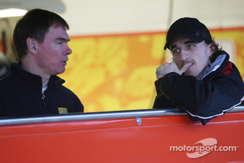 Alan Permaine, Renault F1 Team, Engineer, Robert Kubica
