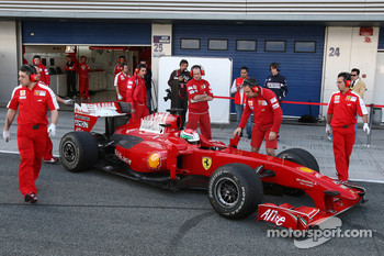 Pablo Sanchez Lopez, Tests for Scuderia Ferrari