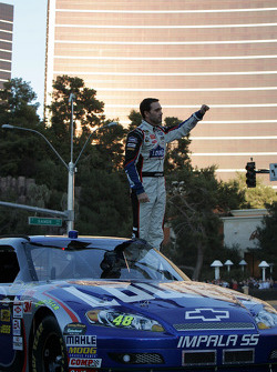 Top 12 victory lap parade: Jimmie Johnson, Hendrick Motorsports Chevrolet celebrates