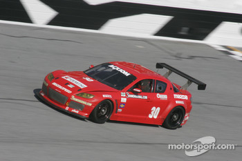 #30 Racers Edge Motorsports Mazda RX-8: Glenn Bocchino, Jade Buford, Jordan Taylor