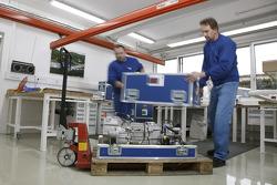 Volkswagen Motorsport: logistic preparation